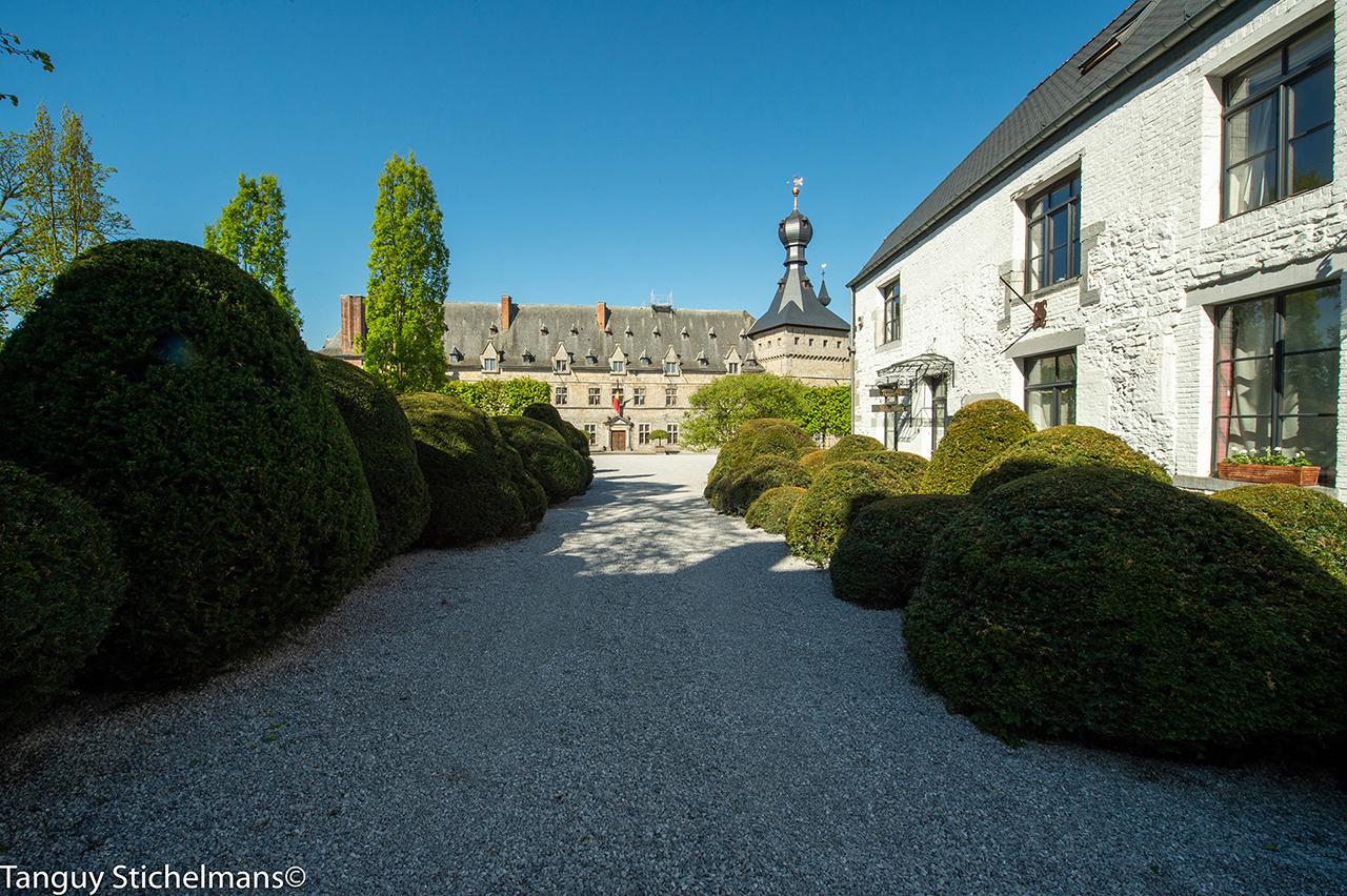 het kasteel van chimay