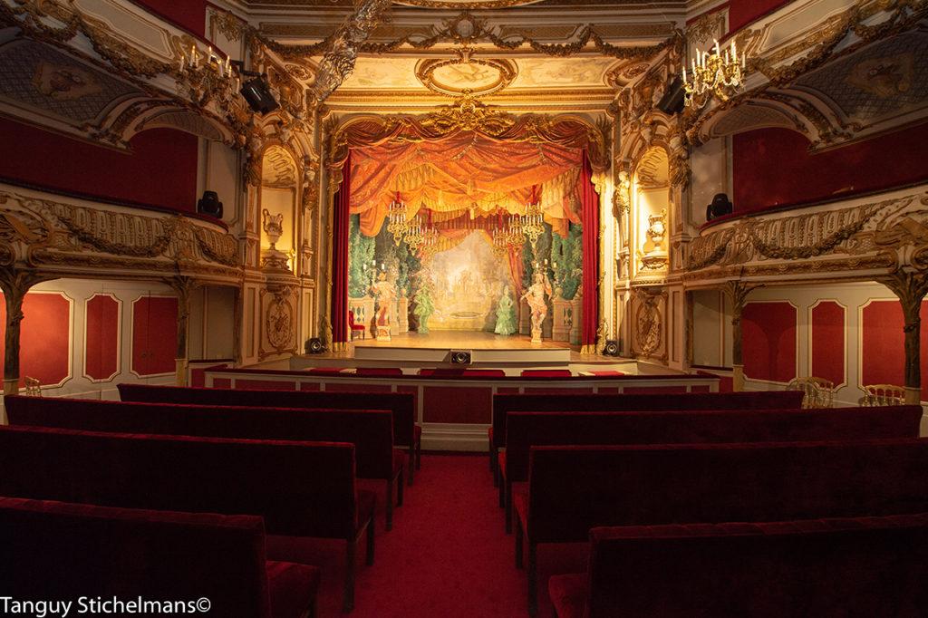 het kasteeltheater van chimay