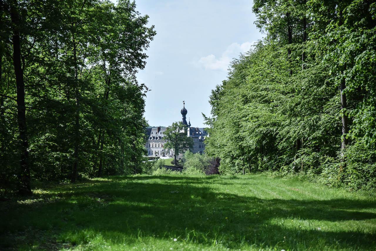 Château train ville de chimay enfants (215)