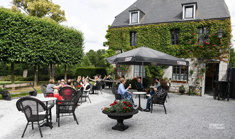 Terrasse Château de Chimay