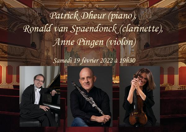 Patrick Dheur, Ronald van Spaendonck et Anne Pingen