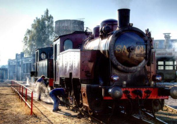 Le Train à vapeur des 3 vallées